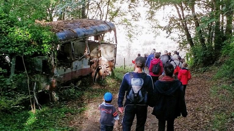 JEP bus en forêt