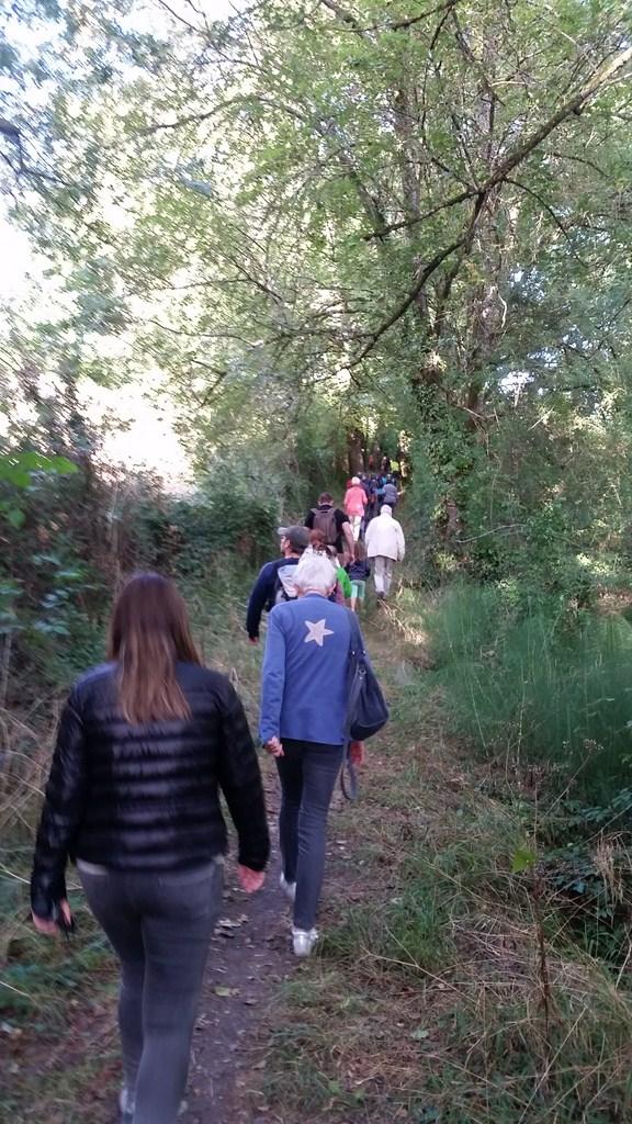 Journée du patrimoine chemin vers Cayssat