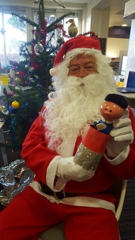 Petit tom et le Père Noël