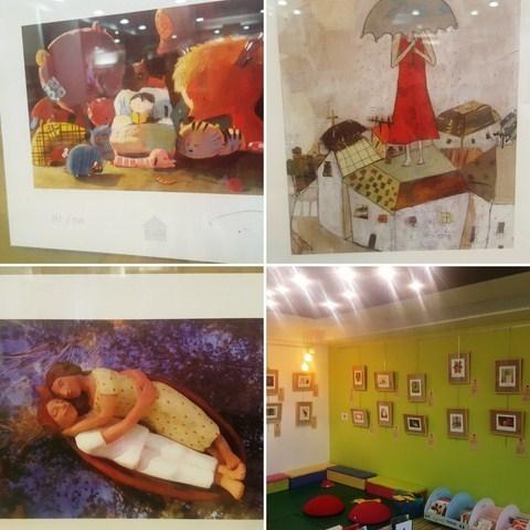 exposition illustrateurs jeunesses 2017