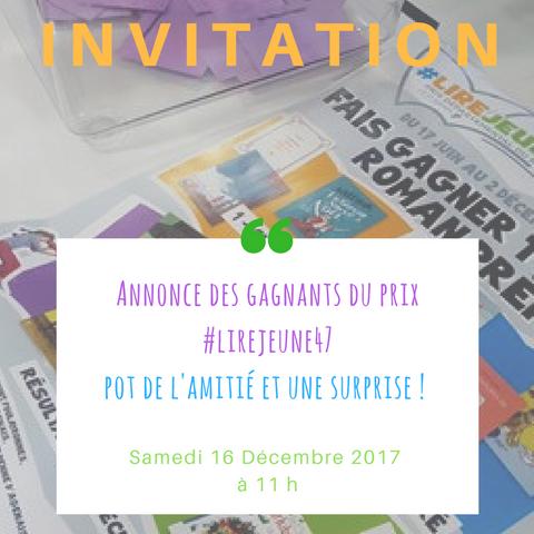 invitation #lirejeune47
