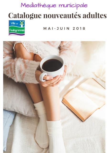 catalogue nouveauté mai juin 2018