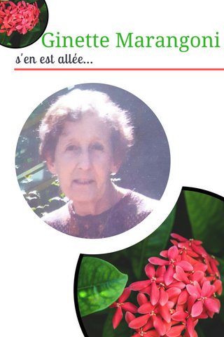 décès bénévole Ginette Marangoni